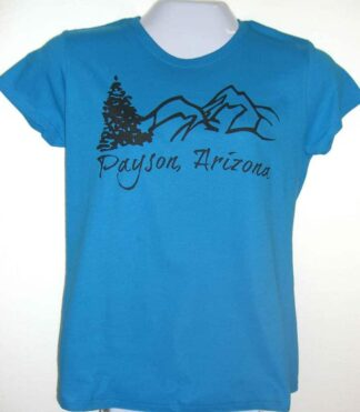 Ladies Payson T-Shirt – Blue