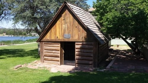 haught log cabin