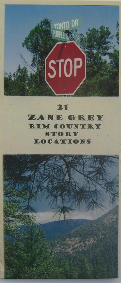 Zane Grey Rim Country Story Locations Map