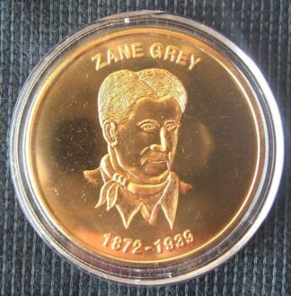 Zane Grey Commemorative Coin